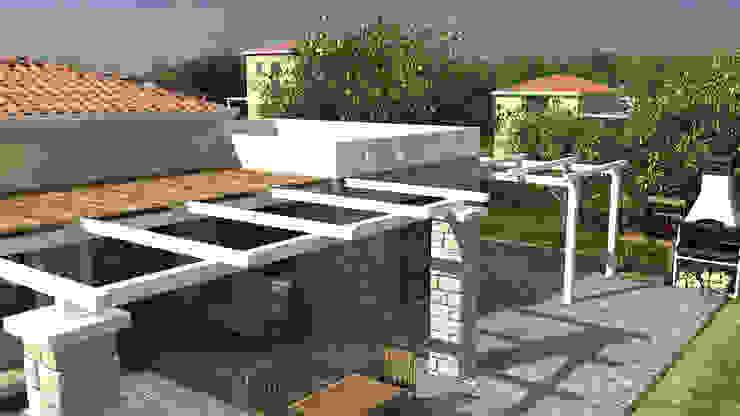 Vườn phong cách Địa Trung Hải bởi Gülşahin Địa Trung Hải