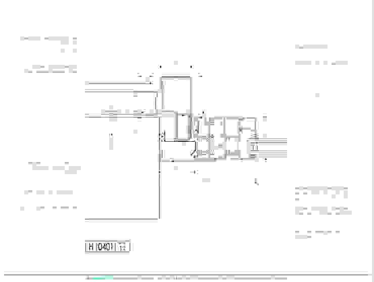 Carpinterías Convencionales - Detalle en planta de mm ARQUITECTOS