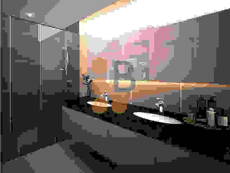 Renders. 3D. 3Dimage. Baño. Toilet de Brick Serveis d'Interiorisme S.L.