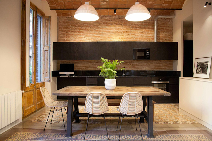 Modern kitchen by Brick Serveis d'Interiorisme S.L. Modern