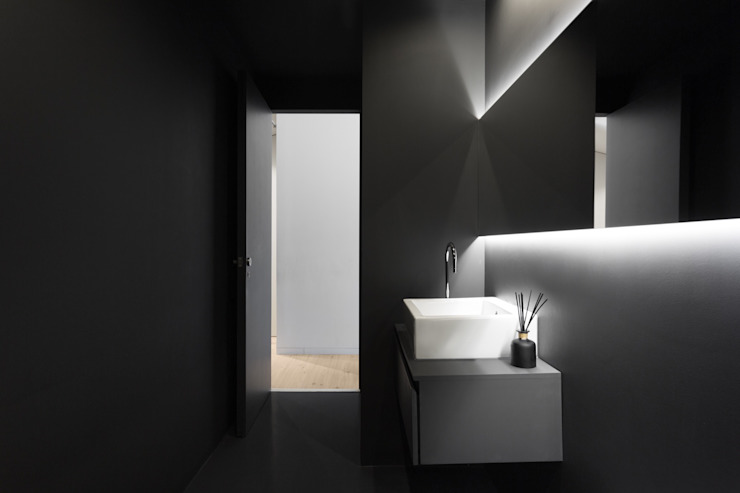 PAULO MARTINS ARQ&DESIGN Minimalist style bathrooms