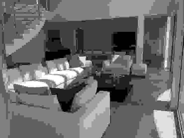 Living and TV Area Salas de estar modernas por Pure Allure Interior Moderno
