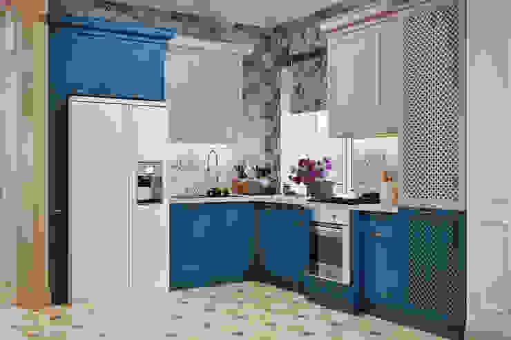 Студия дизайна ROMANIUK DESIGN Kitchen Beige
