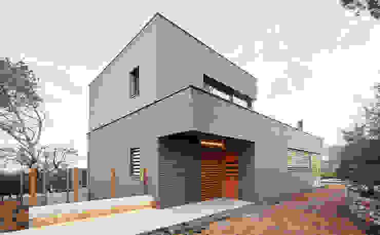 54COD Obra nueva de casa aislada-adosada en Matadepera de Vallribera Arquitectes