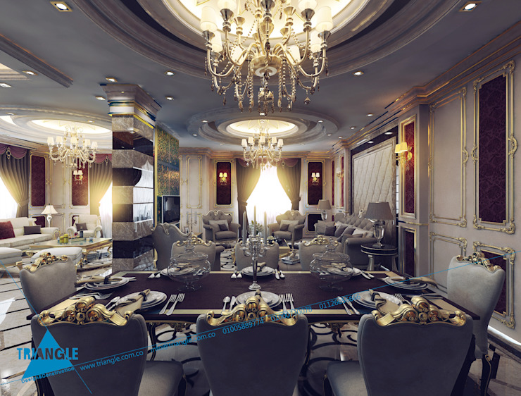 Dining room by triangle,