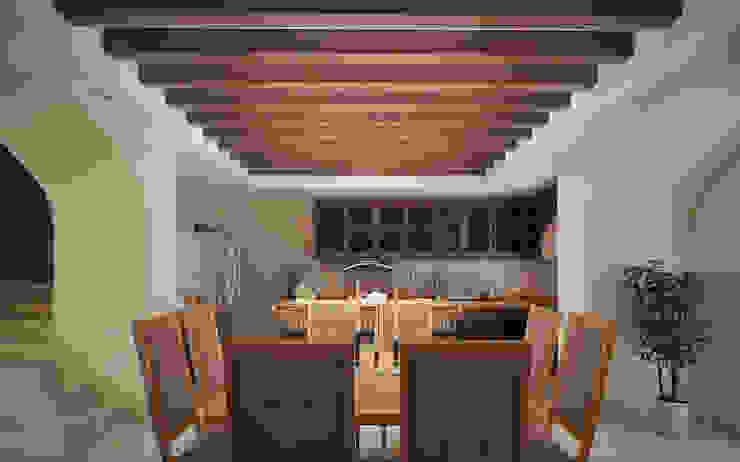 Casa San Lorenzo Comedores clásicos de Gestec Clásico Madera Acabado en madera