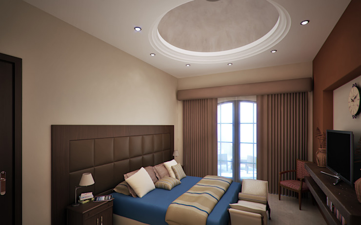 Classic style bedroom by Gestec Classic Marble