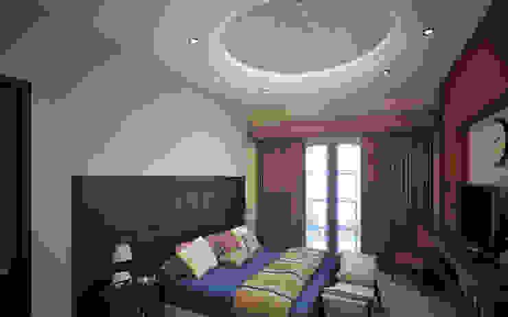 Projekty,  Sypialnia zaprojektowane przez Gestec, Klasyczny Marmur