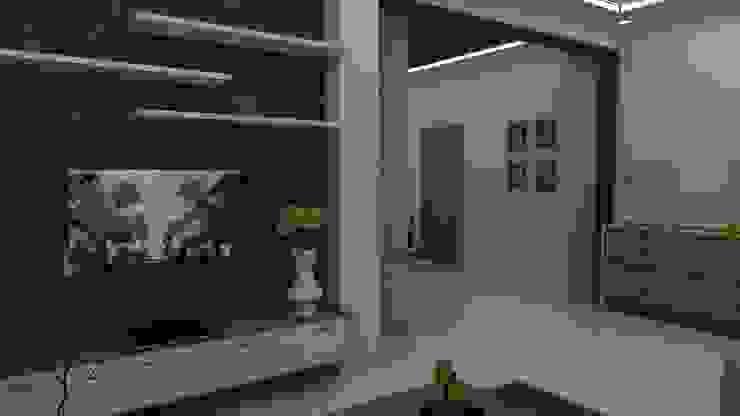 Living room Tv unit Ghar360