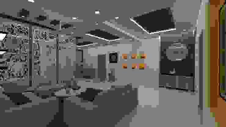 Living Room - Wall Niche Ghar360