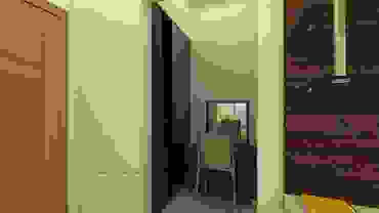 Master Bedroom Wardrobe and Dressing Table Ghar360