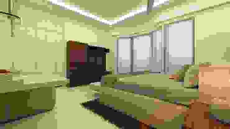 Master Bedroom TV Unit Ghar360