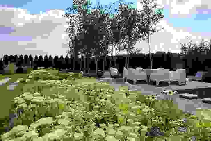 Ogród prywatny - Katowice Podlesie Nowoczesny ogród od MUGO OGRODY Nowoczesny