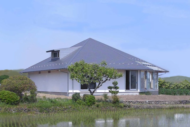 Moderne Häuser von SSD建築士事務所株式会社 Modern Massivholz Mehrfarbig
