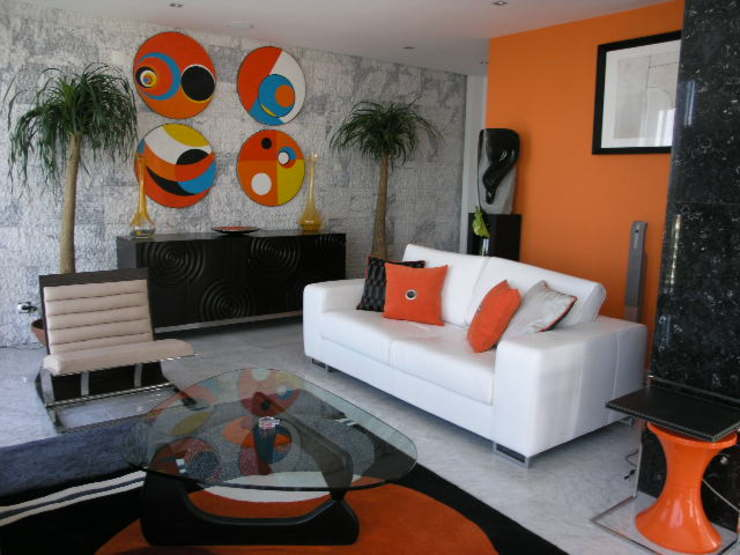 Modern Living Room by Atelier Ana Leonor Rocha Modern