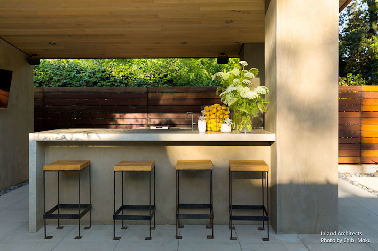 Inland Architects - The Orchard House - Exterior 2:  Häuser von Chibi Moku,Modern Beton
