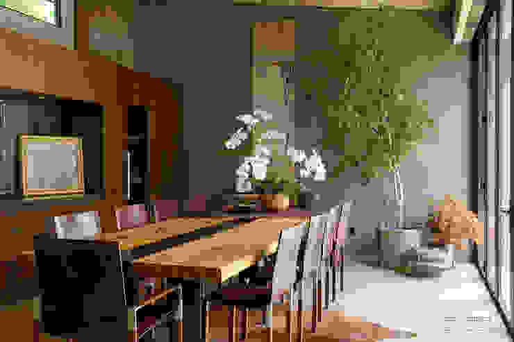 Comedores de estilo  por Chibi Moku, Moderno Madera Acabado en madera