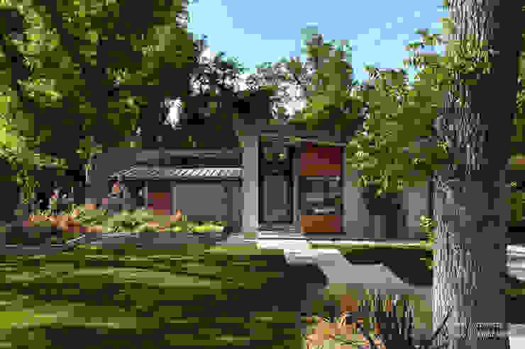 Jardines de estilo  por Chibi Moku, Moderno Concreto