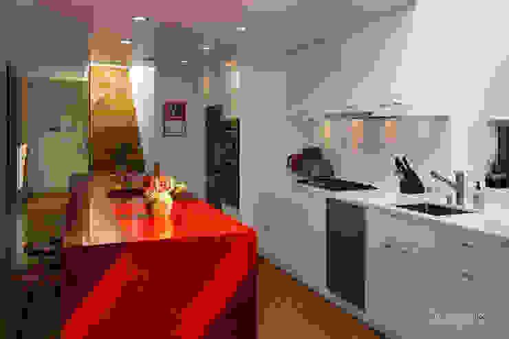 Modern Kitchen by Chibi Moku Modern Concrete