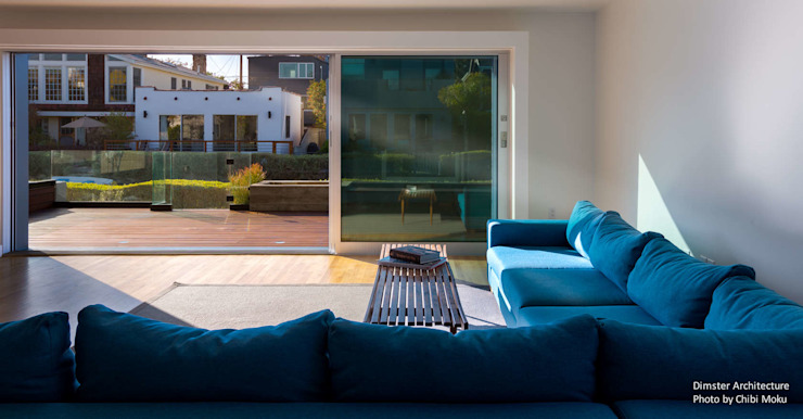Modern Living Room by Chibi Moku Modern Concrete