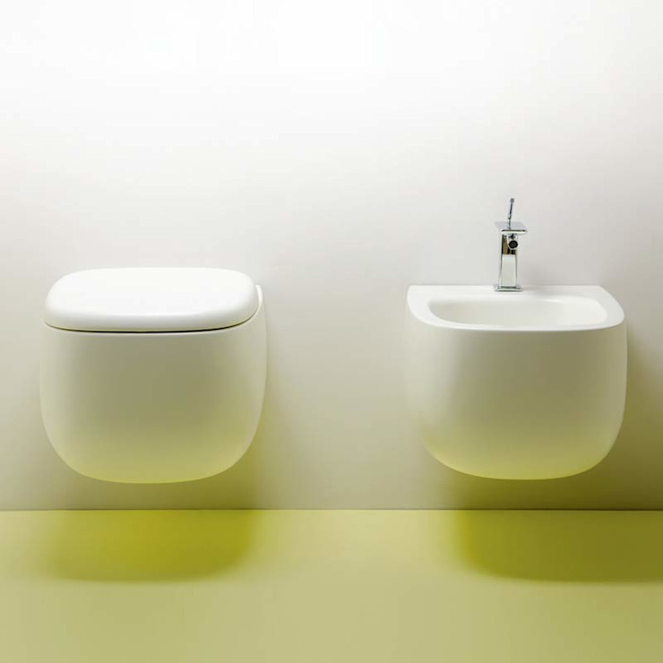 bagno chic BathroomSinks Ceramic White