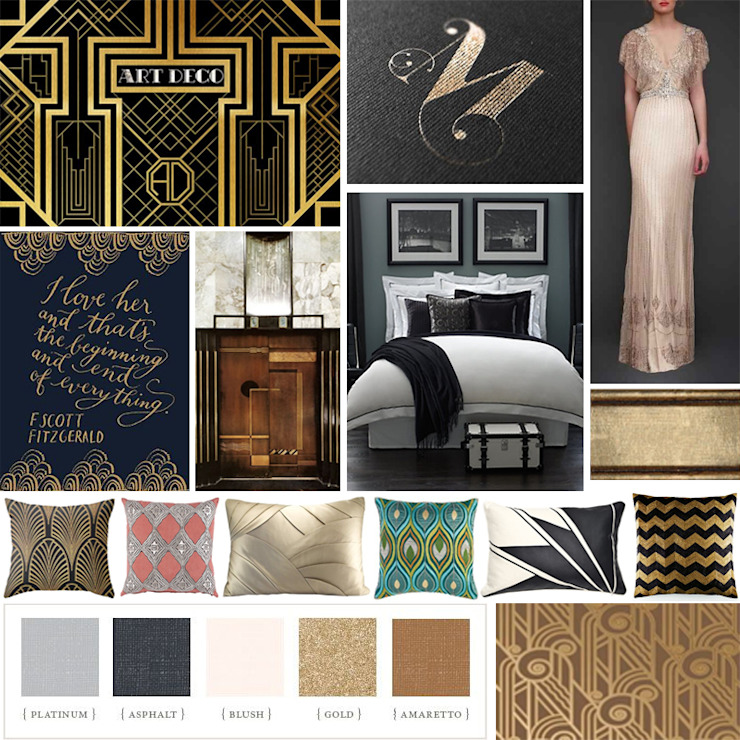 Art Deco Moodboards by CKW Lifestyle Associates PTY Ltd