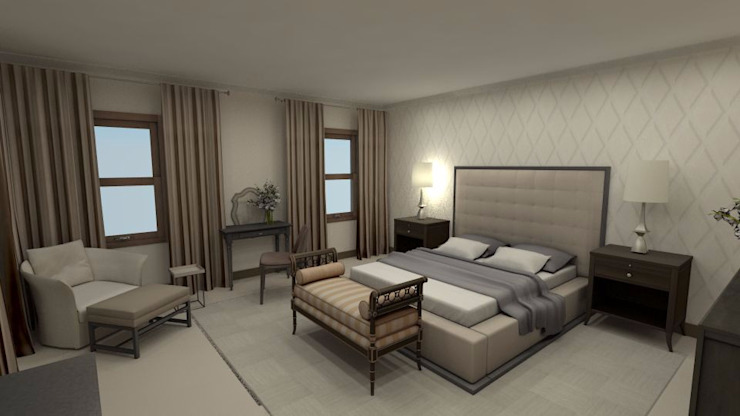 Dainfern Bedroom by CKW Lifestyle Associates PTY Ltd