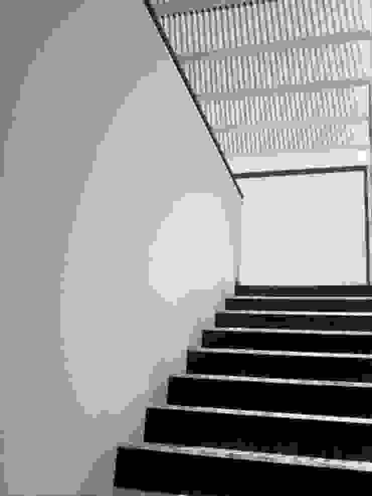 Otawa Pasillos, vestíbulos y escaleras modernos de [GM+] Arquitectos Moderno