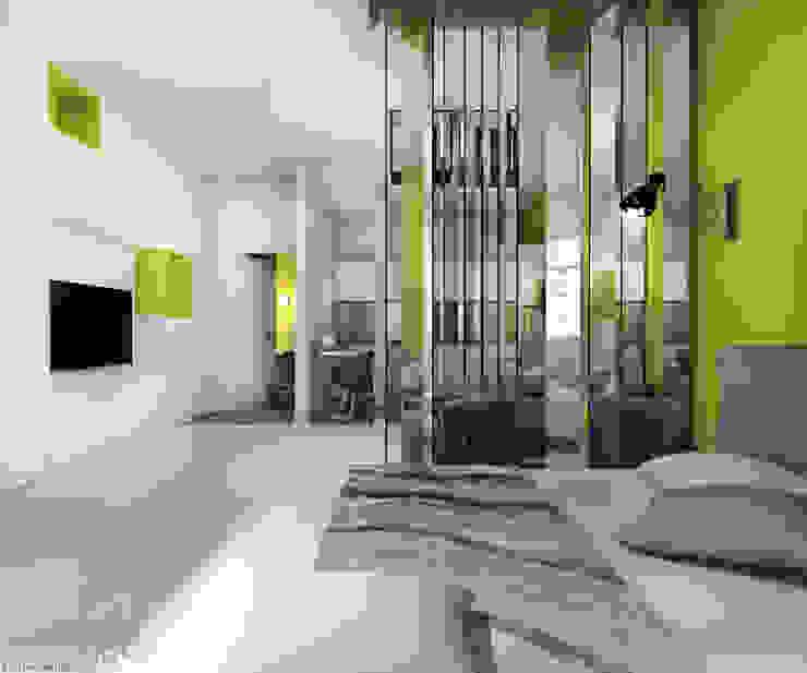 project yellow Minimalist living room by дизайн интерьера Рина Васильева Minimalist MDF
