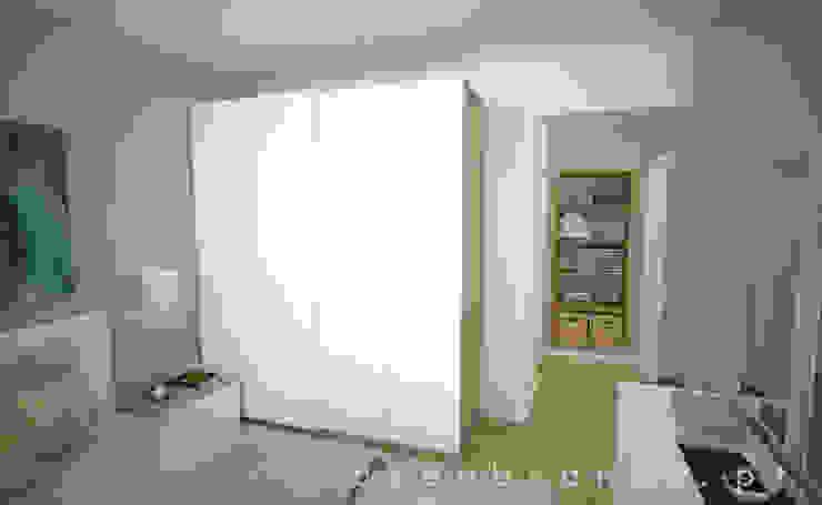 Suite Depois por Areabranca Moderno