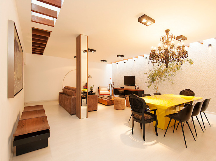 Dining room by THEROOM ARQUITETURA E DESIGN, Modern