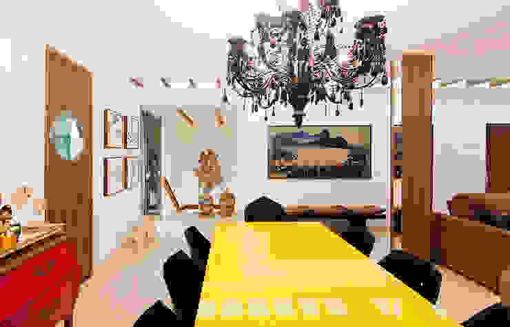 THEROOM ARQUITETURA E DESIGN ห้องทานข้าว