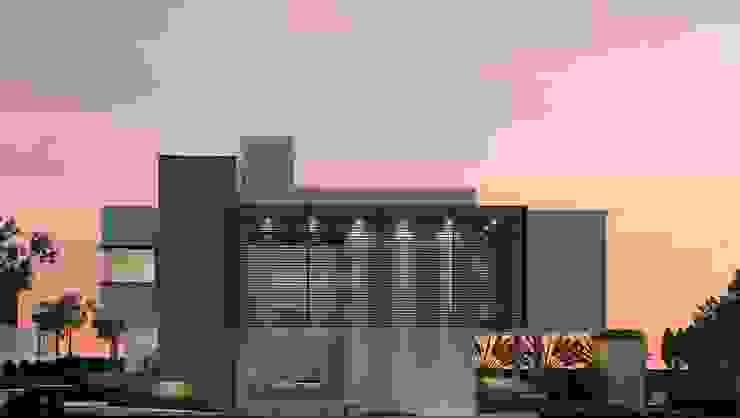 THEROOM ARQUITETURA E DESIGN Casas de estilo moderno