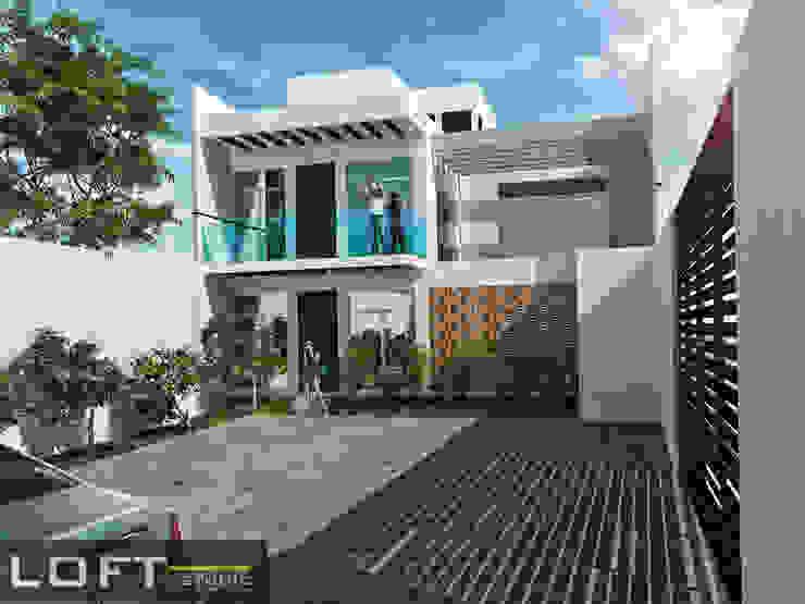 Modern houses by LOFT ESTUDIO arquitectura y diseño Modern Concrete