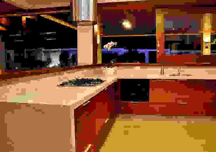 THEROOM ARQUITETURA E DESIGN Cocinas de estilo moderno