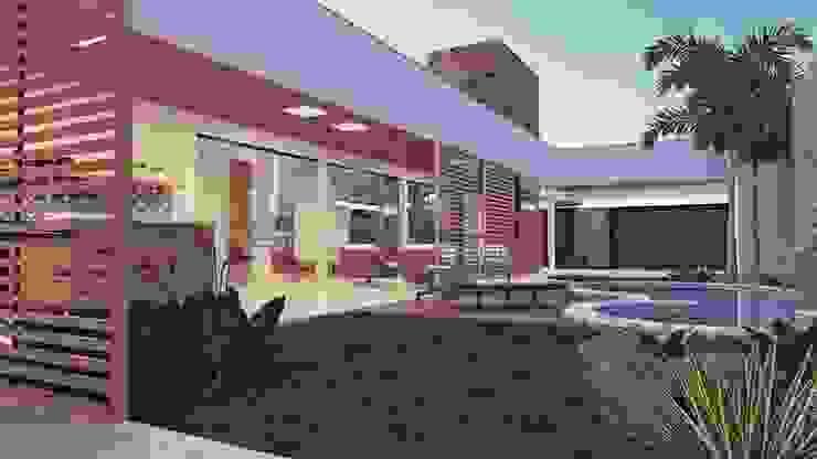 THEROOM ARQUITETURA E DESIGN Maisons modernes