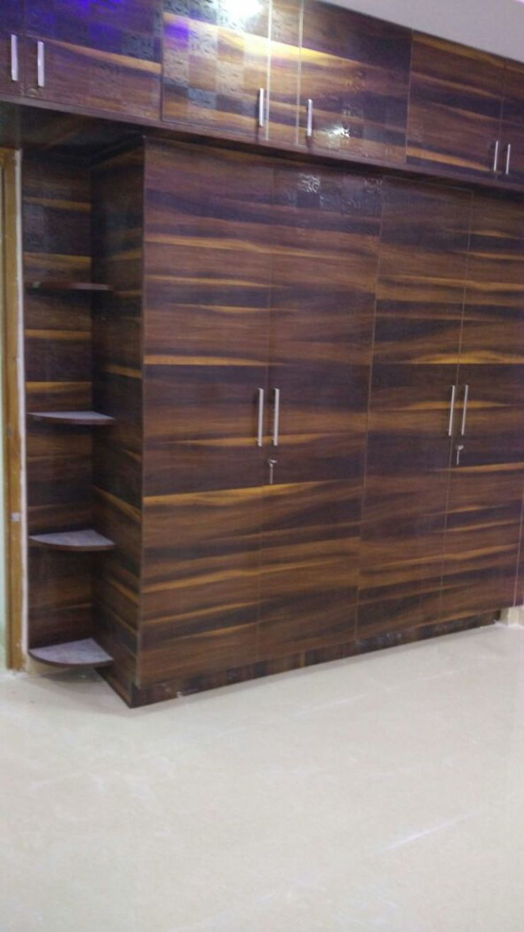 Wardrobe Work Modern style bedroom by Ghar360 Modern