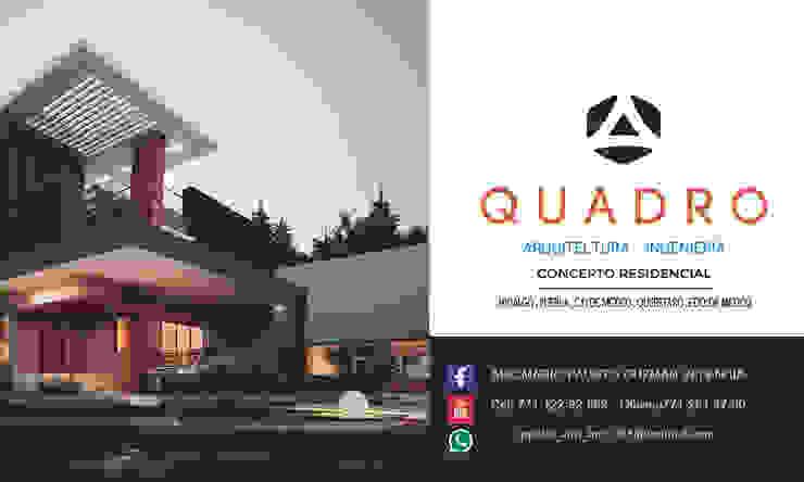 PRESENTACION Hoteles de estilo moderno de QUADRO ARQUITECTURA INGENIERA Moderno Derivados de madera Transparente