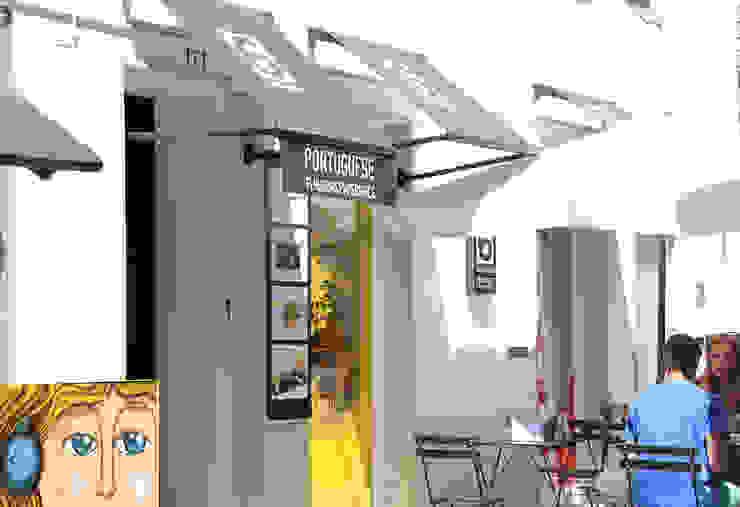 Exterior da loja Lojas e Espaços comerciais clássicos por GRAU.ZERO Arquitectura Clássico