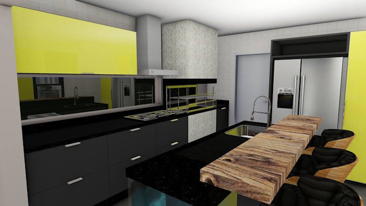 Rustic style kitchen by Studio² Rustic