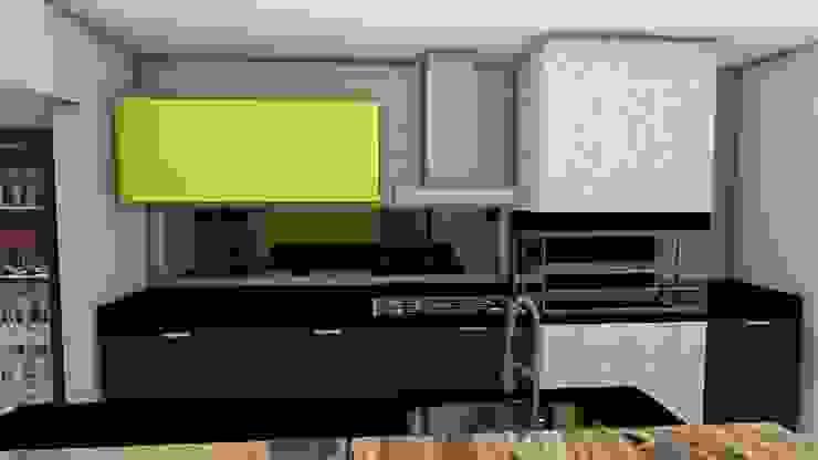 Cozinha com churrasqueira Studio² Cozinhas rústicas