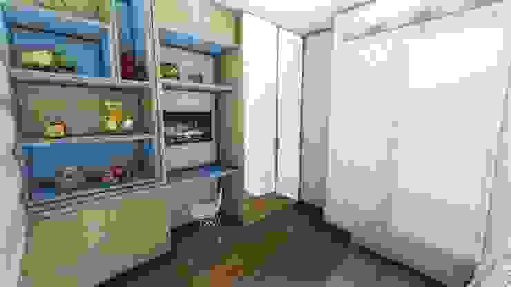 Rustic style nursery/kids room by Studio² Rustic