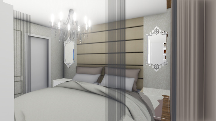 Rustic style bedroom by Studio² Rustic