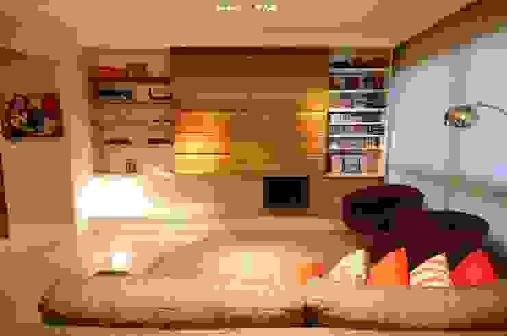 Salas de estilo moderno de João Linck | Arquitetura Moderno
