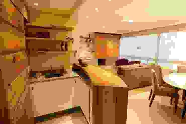 Salas / recibidores de estilo  por João Linck | Arquitetura,