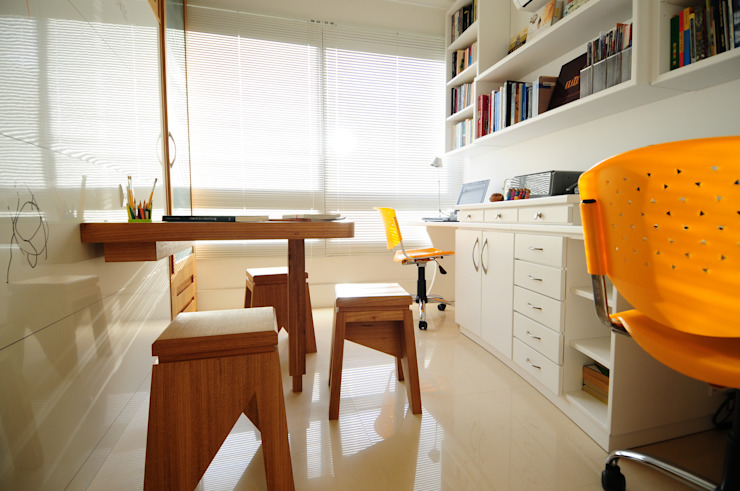 Estudios y despachos de estilo  de João Linck | Arquitetura