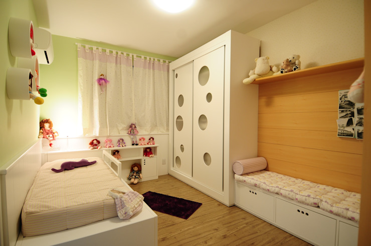 Chambre d'enfant moderne par João Linck | Arquitetura Moderne