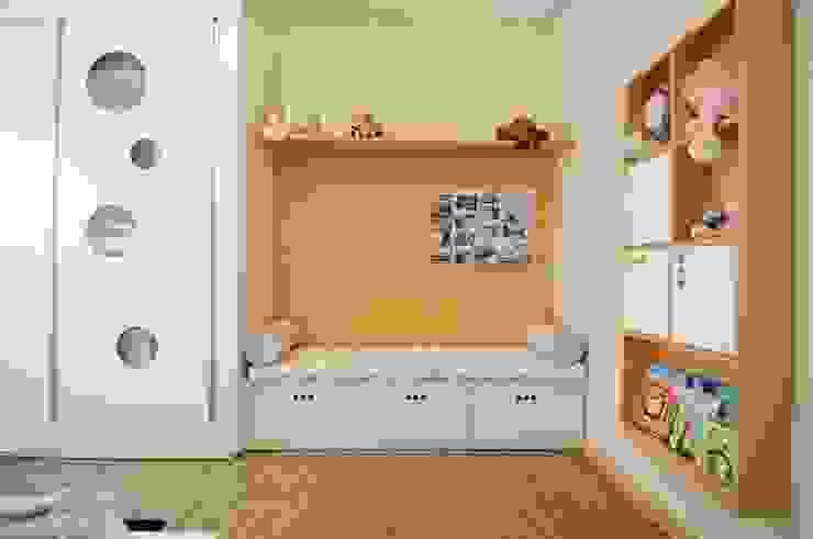 Cuartos infantiles de estilo moderno de João Linck | Arquitetura Moderno