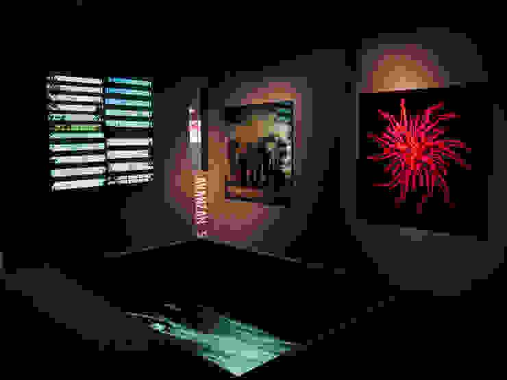 Art Gallery Clorofila Digital Simona Garufi Diseño de ferias de estilo minimalista