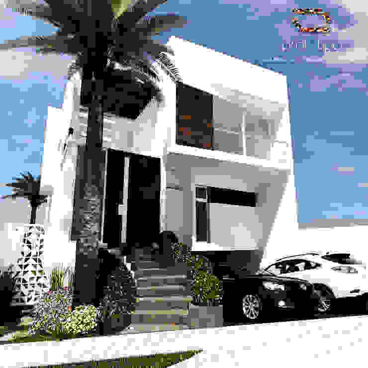 Häuser von Prototipo Arquitectos, Modern Beton